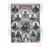 Distinguished Colored Men Poster