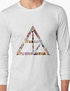 Alaska faces sign Long Sleeve T-Shirt