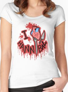 I 'Heart' Hannibal Women's Fitted Scoop T-Shirt