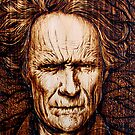 Hairy Dirty - Clint Eastwood by uberdoodles