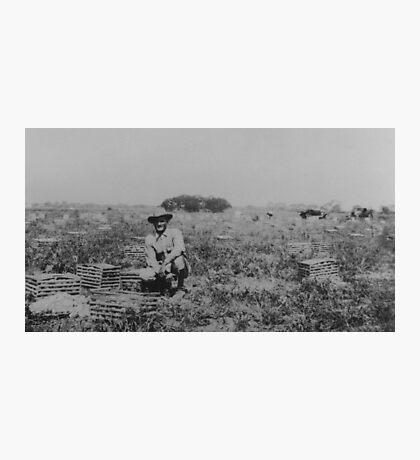George W. Langley, farmer Photographic Print
