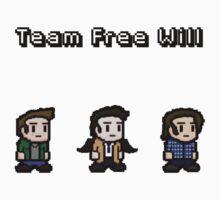 Pixel Team Free Will by BeatIsSoFunny