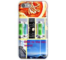 DNA reproduction seeds in space  iPhone Case/Skin