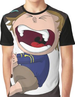 Skinned Knee of Hurtyness Graphic T-Shirt