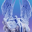 ๑۩۞۩๑BLUE ANGEL..I LAID ME DOWN AND SLEPT.. CARD/PICTURE ๑۩۞۩๑ by ✿✿ Bonita ✿✿ ђєℓℓσ