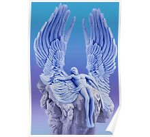 ๑۩۞۩๑BLUE ANGEL..I LAID ME DOWN AND SLEPT.. CARD/PICTURE ๑۩۞۩๑ Poster