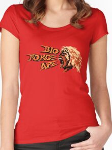 Bio Force Ape Women's Fitted Scoop T-Shirt