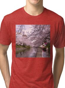 hisoka in town  Tri-blend T-Shirt