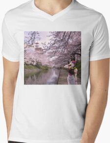 hisoka in town  Mens V-Neck T-Shirt