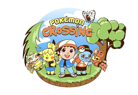 Pokémon Crossing by Lucy Blundell