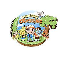 Pokémon Crossing Photographic Print