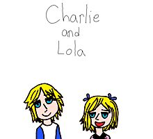 anime Charlie and Lola by Teresa Hulbert