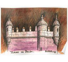 Belém tower Poster