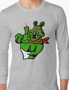 EVIL GREEN TONY Long Sleeve T-Shirt