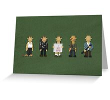 Die Hards Greeting Card