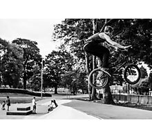 Flying BMX Photographic Print