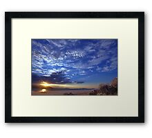 North west Palomino Valley Framed Print