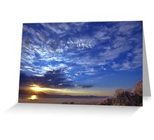 North west Palomino Valley Greeting Card