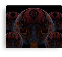 Tut64#2: Dark Pythagorean Forest (G1386) Canvas Print