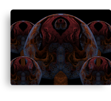 Tut64#2: Dark Pythagorean Forest (G1386) Canvas Print