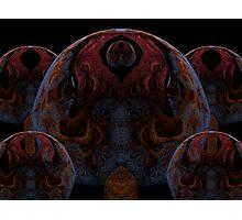 Tut64#2: Dark Pythagorean Forest (G1386) Photographic Print