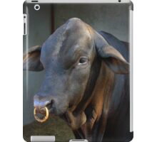 Beef-master Bull with nose ring iPad Case/Skin
