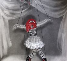 All Strung Up; Human Marionette by Elizabeth Aubuchon