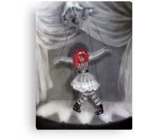 All Strung Up; Human Marionette Canvas Print