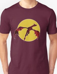 There Be Red Dragons  T-Shirt