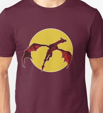 There Be Red Dragons  Unisex T-Shirt