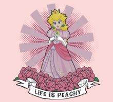 Life Is Peachy One Piece - Short Sleeve