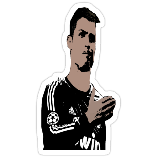 Cristiano Ronaldo Cartoon by bhm57