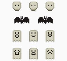 Mini Spooky Pixels - Set of 11 by pixelatedcowboy