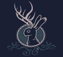 Jackalope crest by Ben Walker