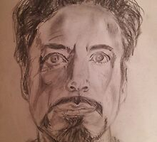 Robert Downey Jr. Drawing by bzscarlet