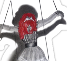 All Strung Up; Human Marionette Sticker