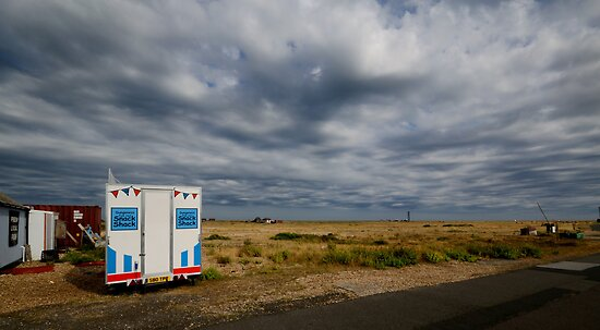 The Dungeness Snack Shack by Nigel Bangert