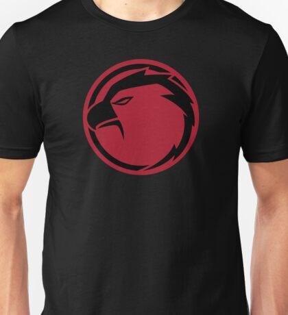 Lightning Hawks Red Logo-Flat T-Shirt