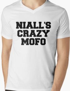 "One Direction - ""Niall's crazy mofo"" Mens V-Neck T-Shirt"