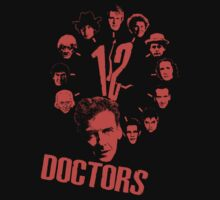 12 doctors One Piece - Short Sleeve