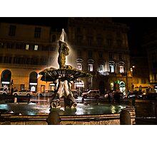 Rome's Fabulous Fountains - Fontana del Tritone Photographic Print