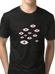 Anime - Alucard eyes Tri-blend T-Shirt