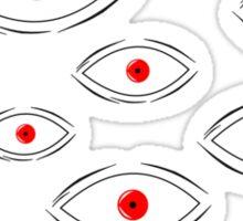 Anime - Alucard eyes Sticker