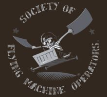 Seal of the Society of Flying Machine Operators by Ben Walker