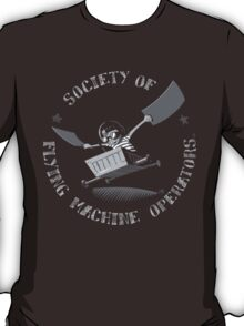 Seal of the Society of Flying Machine Operators T-Shirt
