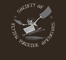 Seal of the Society of Flying Machine Operators Unisex T-Shirt
