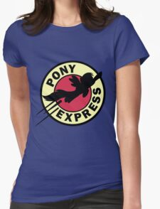 Pony Express Womens Fitted T-Shirt
