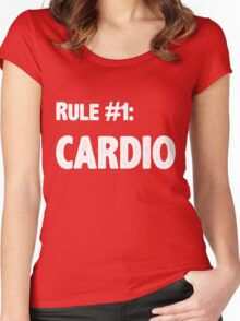 Rule #1 Cardio Women's Fitted Scoop T-Shirt