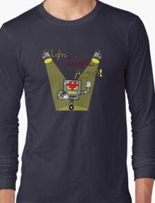 Undertale - Mettaton, Lights Camera Action! Long Sleeve T-Shirt