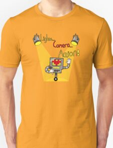 Undertale - Mettaton, Lights Camera Action! Unisex T-Shirt